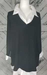 Karen Scott Women's Long Sleeve Blouse Size 1X